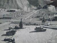 Exploration pétroliere TOTAL années 50-60 photo grand format Iran Bibi Hakimeh
