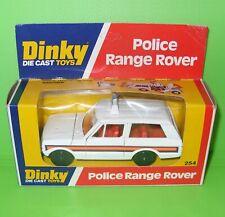 Dinky / 254 Range Rover Police Car / Boxed