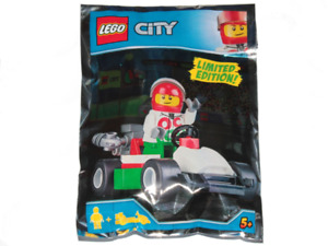 Lego - City - Race Driver and Go-kart - Foil Pack - 951807 - New & Sealed
