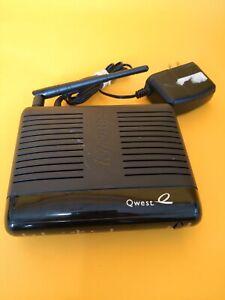 Qwest Actiontec PK5000 DSL Modem 4-Port Wireless Router w/ adapter