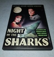 Night of the Sharks (DVD, Treat Williams *RARE oop