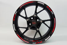 Felgenrandaufkleber GP-Style - Racing Red 710002 passend für 16'' 17'' 18'' Zoll
