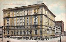 CLAYPOOL HOTEL INDIANAPOLIS INDIANA POSTCARD (1908)