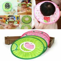 Baby Kids Bath Hat Shower Shampoo Visor Eye Shield Hair Wash Cap T1Y5