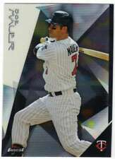 2015 Topps Finest Baseball #10 Joe Mauer Minnesota Twins