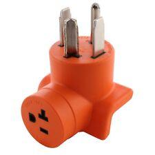 30A 125/250V NEMA 14-30P to 20A 125V NEMA 5-20R Outlet Adapter by AC WORKS®