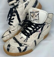 Reebok Basquiat Boots Exo Fit Plus Limited Edition Graffiti Sneakers Men Sz 14