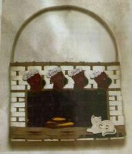 Basket Weaving Pattern 'Twas The Night Before Christmas Wall Basket by Mirsberge