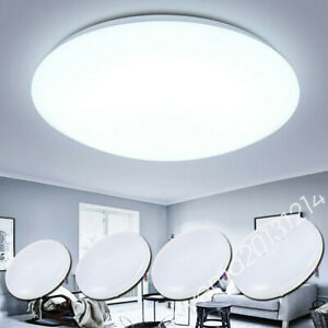 Bright Round LED Ceiling Down Light Panel Wall Bathroom Kitchen Lamp MA
