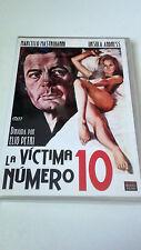 """DVD """"LA VICTIMA NUMERO 10"""" COMO NUEVO ELIO PETRI MARCELLO MASTROIANNI URSULA AND"""