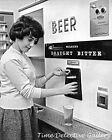 Wilson's Beer Vending Machine - 1950s - Vintage Photo Print