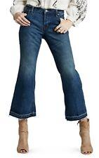 People Kick Chelsea Crop Flare Jeans Denim Pants Jacob Wash 26