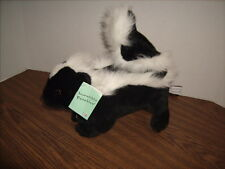"""Plush SKUNK Incredible Petables Brand NEW with TAGS 12"""" Stuffed Animal"""