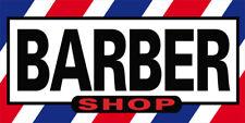20x48 Inch Barber Shop Vinyl Banner Sign B02