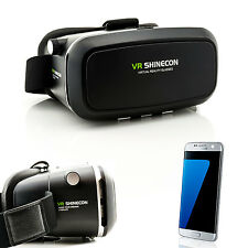 3D Brille VR Virtual Reality für Samsung Galaxy S5 S6 S7 Edge S8 Neo Videobrille