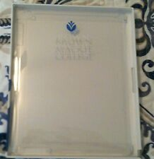Apple iPad 2-3-4 Translucent Back Cover, Brown Mackie College