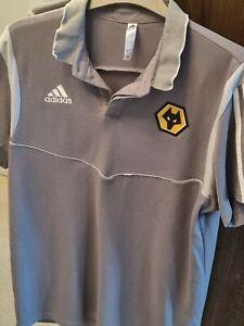 Wolves Football Training Shirt Top Wolverhampton Wanderers  Large adidas
