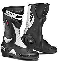 Sidi Performer Lady Black/White CE Motorcycle Motorbike Boots