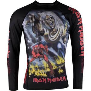 Tatami Fightwear Iron Maiden Number of the Beast Long Sleeve BJJ Rashguard