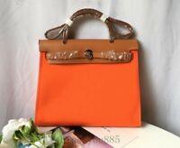 Luxury designer Genuine Leather handbag women canvas tote Bag Shoulder Bag NEW