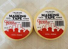 "Painters Tape Masking Genuine 2 ORIGINAL 1""X60 Yds IPG Made USA General Purpose"