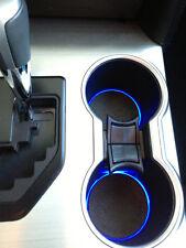 LED Cup Holder Lights -Blue LEDs - Fits 2012-2014 Toyota Camry Custom Mod