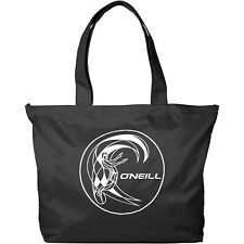 O'NEILL WOMENS BAG.WATERPROOF SHOPPER BLACK ZIP UP TOTE SHOULDER HOLDALL 8S 16 9