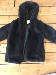 Zara Kids Furry Coat Age 13-14