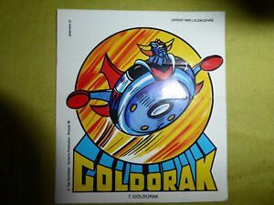 Goldorak vintage Autocollant