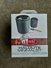 Gsi Outdoors Halulite Minimalist Cooking and Eating Set