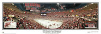 NHL Detroit Red Wings 2008 Stanley Cup Game 1 Champions Panoramic Poster 4016