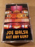 Joe Walsh : Got Any Gum? : Vintage Tape Cassette Album from 1987