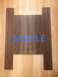 AAA Indian Rosewood Backs and Sides Set, Classic Guitar, Luthier, Back and Side