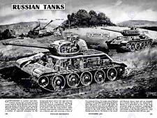 Disegno DI GUERRA CARRI ARMATI RUSSI t34 Joseph Stalin Militare USA posterprint bb7762b