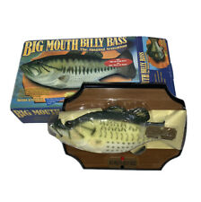 Vintage Big Mouth Billy Bass Motion Activated Singing Sensation by Gemmy New