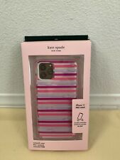 iPhone 11 PRO MAX --- NWT KATE SPADE Lips with Stripe WIRU1318
