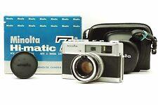 @ Ship in 24 Hours! @ Minolta Hi-Matic 7s 35mm Film Rangefinder Camera 45mm f1.8