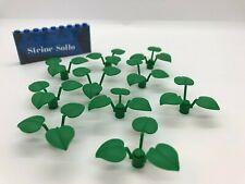 8 x LEGO®15279 City,Blumen,Pflanzenstil,Blätter,Gras,Stengel olive grün neu.