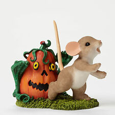 Charming Tails Pumpkin Zombie Mouse Halloween Fall 4046779 New Figurine