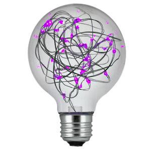 SUNLITE 1.5w Purple G25 Decorative LED Bulb - 100-260v E26 Medium base
