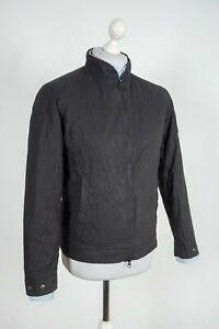 Men's Barbour International Cager Cotton Black Jacket Size M