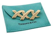 Tiffany & Co Paloma Picasso 18K Yellow Gold Three X Pin Retired