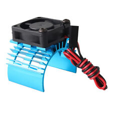 1/10 RC Replacements HSP Axial Traxxas 540 550 Metal Motor Heatersink w/ Fan