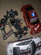 Used Vintage Traxxas 4-Tec all wheel drive Electric RC Car Offer rtr