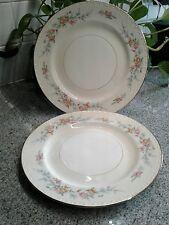 """Set of 2 Vintage HOMER LAUGHLIN Eggshell Georgian Cashmere 10"""" Dinner Plates"""