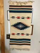 Beautiful  Native American Style Wall Hanging or Rug from the 1960's