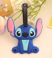 Lilo & Stitch Stitch Luggage Baggage Tag 4 Inches Rubber US Seller