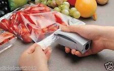 Mini Battery Operated Portable Handy Plastic Food Storage Bag Sealer