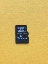Lexus Premium 13mm Navigation Micro SD Card UK & EUROPE MAP 2020/21 ver.1 NEU