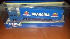 Corgi Volvo Orangina Truck Blue Die-cast 1/50 Scale New In Box (NIB)